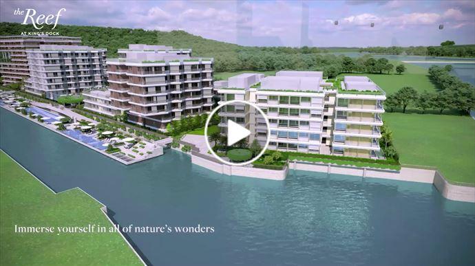 海外尋寶 新加坡篇 新加坡全新臨海低密度豪宅 The Reef at King's Dock【3】- 香港獨家推售別墅式分層單位 中原項目部 (中國及海外物業)