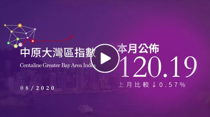 大灣區報告 8月中原大灣區指數 2020年9月15日 中原地產亞太區副主席兼住宅部總裁