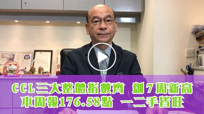2021年2月26日 CCL三大整體指數創7周新高  中原地產亞太區副主席兼住宅部總裁