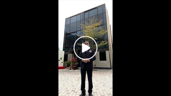 跟陳永傑一齊參觀 元朗現樓洋房「尚悅‧天城」  中原地產亞太區副主席兼住宅部總裁