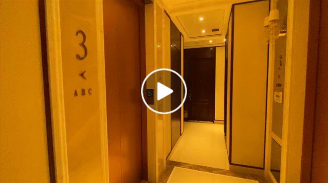 奧朗御峰酒店式大堂 奧朗御峰豪華分層電梯大堂 奧朗御峰鄰近奧運站