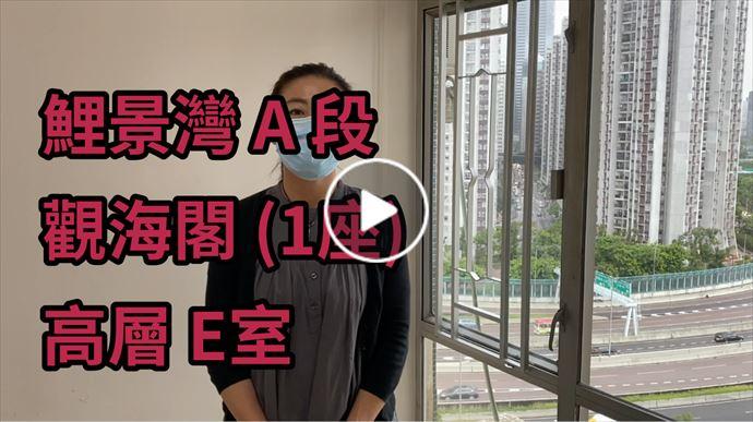 鯉景/嘉亨/逸濤/西灣河 鯉景灣 A 段 觀海閣 (1座) 高層 E室