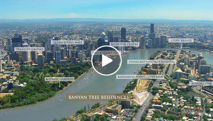 海外尋寶 澳洲布里斯本 Banyan Tree Residences Brisbane 中原項目部 (中國及海外物業)