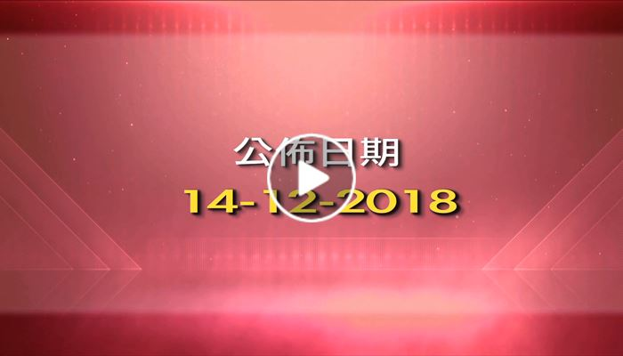 CCL 中原城市領先指數 14/12/2018