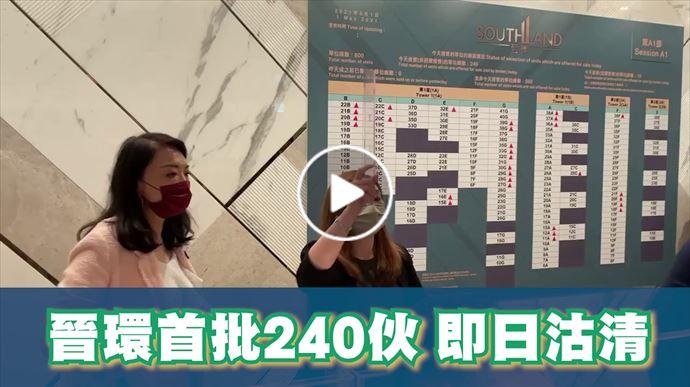 2021年5月1日 晉環首輪銷售  中原地產住宅部總裁