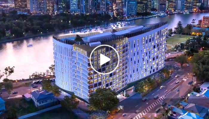 海外尋寶 澳洲 布里斯本 首個奢華品牌河濱全景豪宅 Banyan Tree Residences Brisbane 中原項目部 (中國及海外物業)
