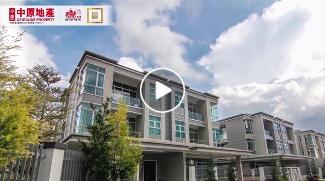 新山 Vila Seni 新世界豪園 發展商影片