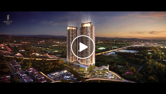 海外尋寶 馬來西亞篇 沙巴 Jesselton Twin Towers 中原項目部 (中國及海外物業)