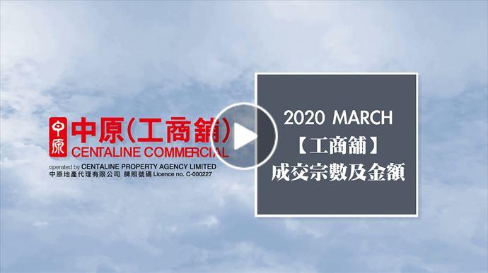2020年3月份 工商舖市況速遞