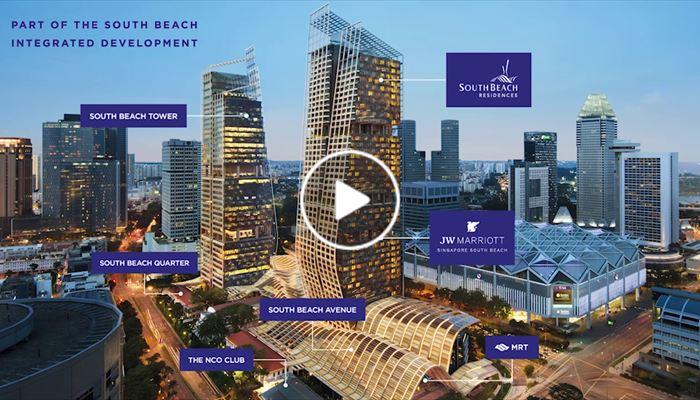 海外尋寶 新加坡篇 第7區 South Beach Residences 中原項目部 (中國及海外物業)