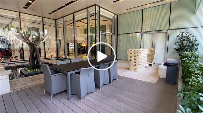 形品・星寓3樓平台花園 新鴻基地產的會所設施 形品・星寓3樓休閒雅座