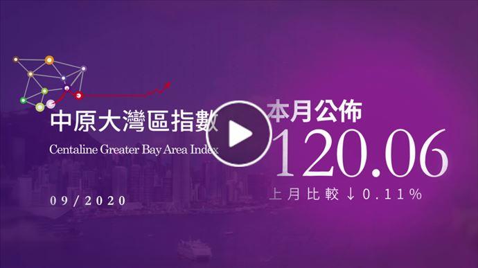 大灣區報告 2020年9月中原大灣區指數 2020年10月15日 中原地產亞太區副主席兼住宅部總裁